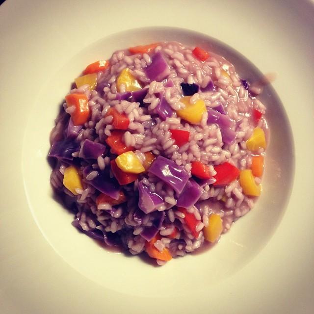 Bunter Gemüse-Risotto